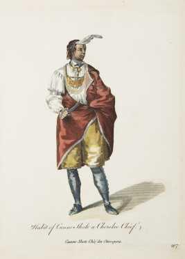 """Cunne Shote, """"Standing Turkey"""", Iroquois Chief"""