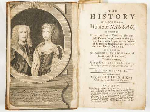 [House of Orange] History, 1734