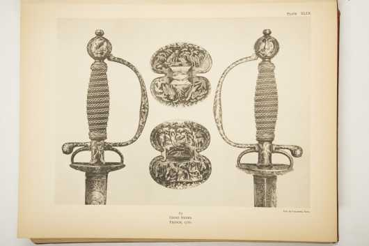 Catalogue of European Court Swords and Hunting Swords.