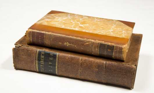 Plutarch's Lives, 1851 2 vols.