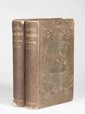 Elisha Kent Kane. Arctic Explorations.