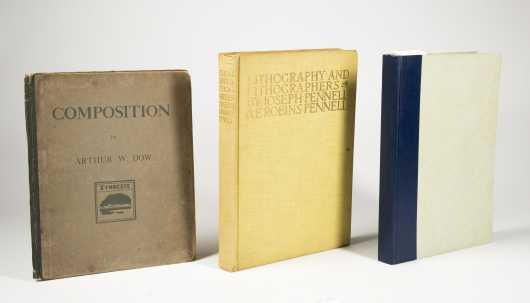 Three Illustrated Art Books