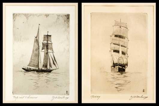 Ship Etchings