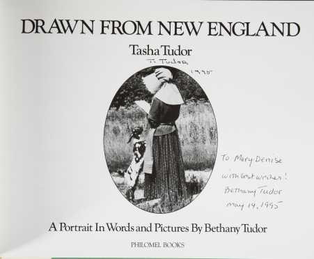 Two Signed Tasha Tudor Books and Two Tudor Illustrated First Editions