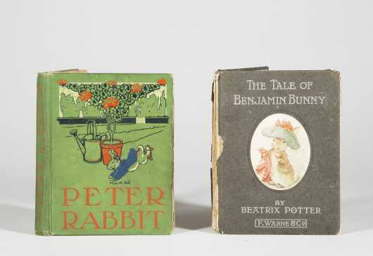 Two Beatrix Potter First Editions