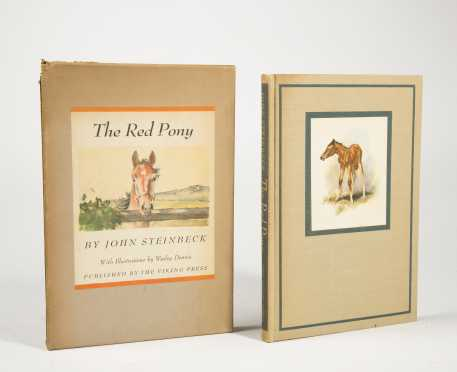 Steinbeck - The Red Pony, illustrated