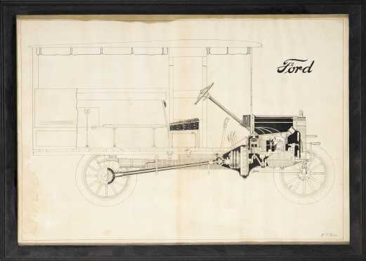 [Automobilia - Ford Drawings and Advertizing]