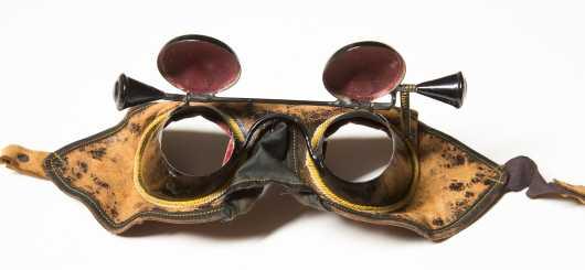 "Odd Fellow Initiation Goggles, ""Hoodwink"""