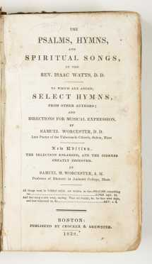 19th Century - Psalms, Hymns & Songs - Five Titles