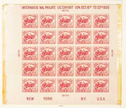 National Postage Stamp Album, 1945