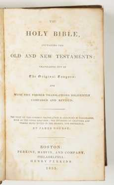 19th Century Bible, and Bible News, Noah Worcester 1812