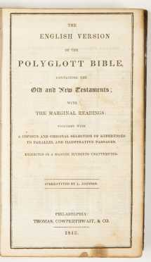 Two Mid 19th Century Bibles