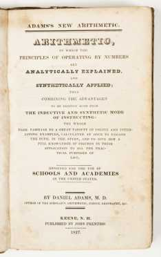 A Group of Five 19th Century School Books