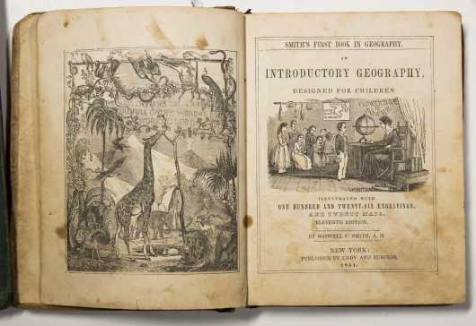 Pike's Arithmatic, 1797, plus Four 19th Century School Books