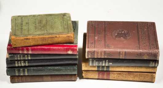 19th Century School Books - 10 Titles