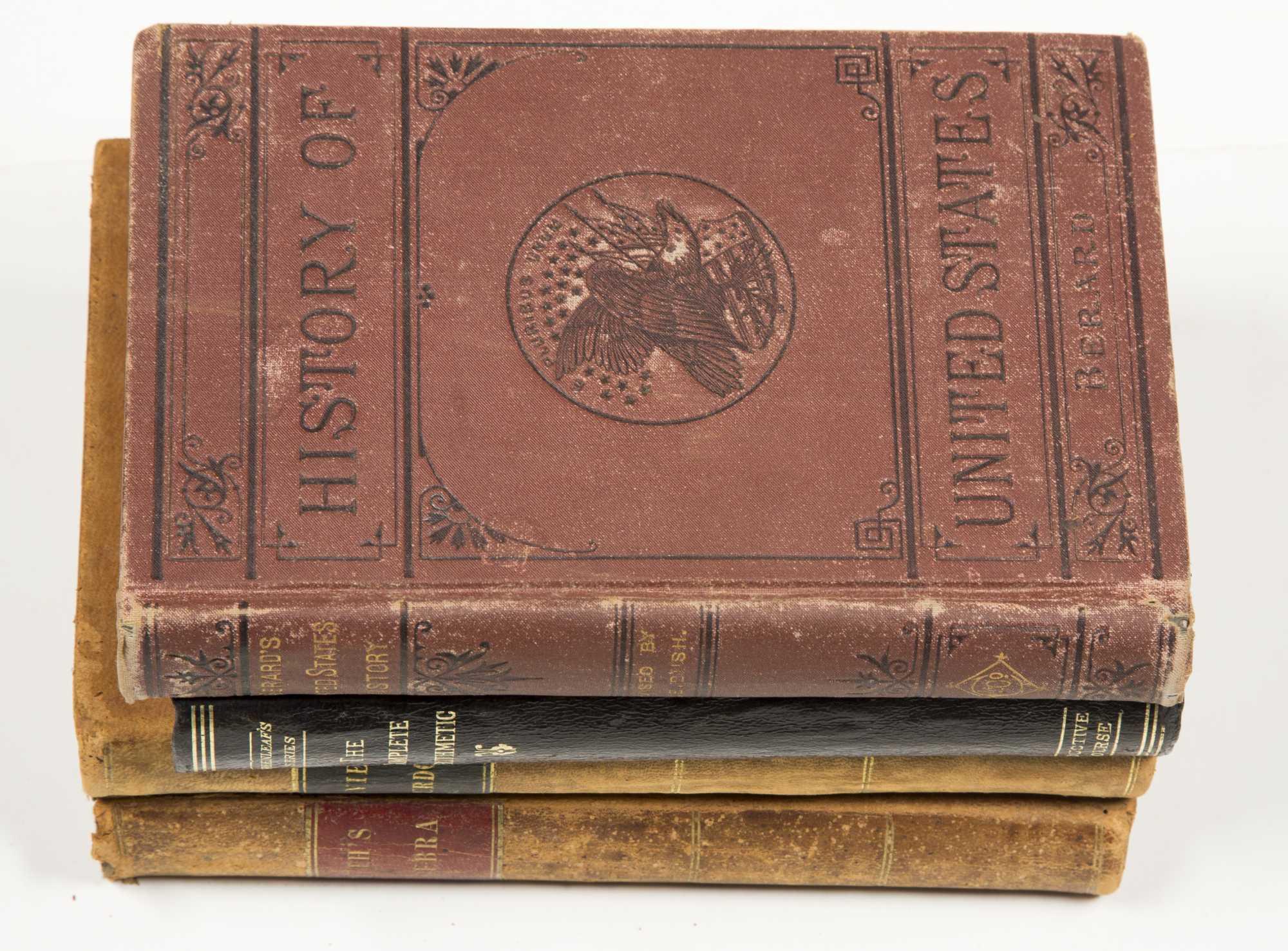 19th Century School Books 10 Titles