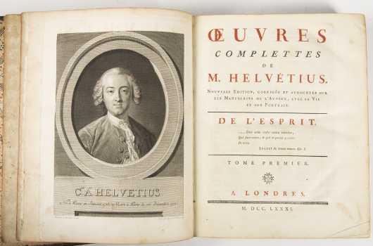 Claude Adrien Helvetius. French, 1715-1771