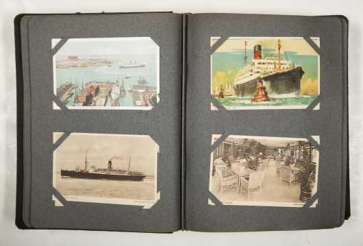 Postcards-Ocean Liners
