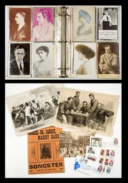 Postcards-Theater History