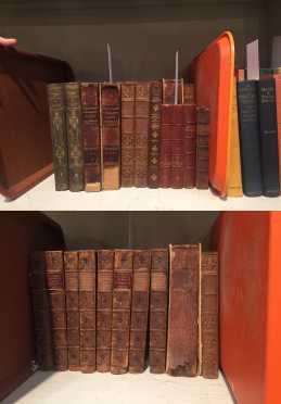 [Miscellaneous 19th century leather-bound]