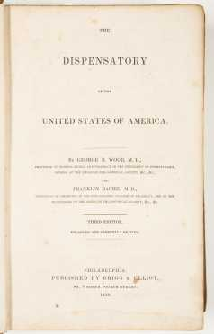 The Dispensatory of the United States of America, 1836
