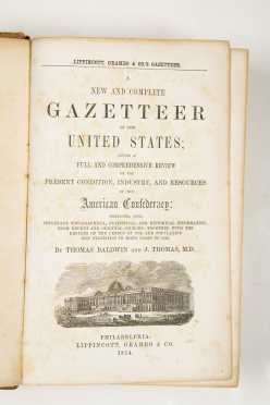 Gazetteer of the United States, 1854