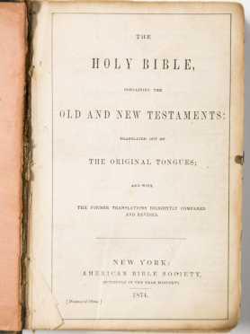 Small Bible and Miniature Psalms