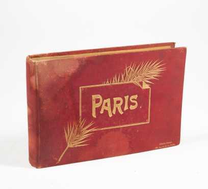 c. 1900 Paris Photo Album
