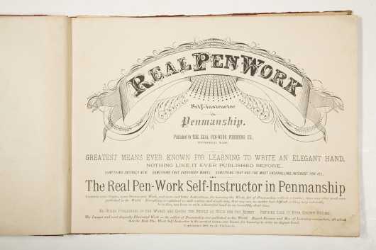 Penmanship, 1881