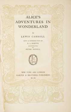 Alice's Adventures in Wonderland, First Edition