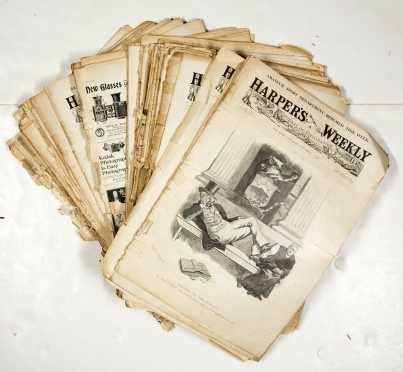 1898 Harpers Magazine Lot