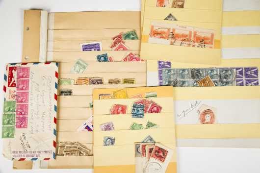 Large Quanity of Used Stamps