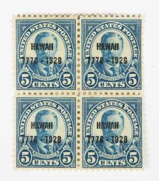Hawaii Scott #648