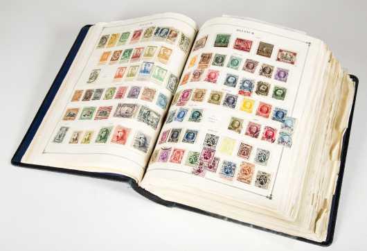 International Jr. Postage Stamp Album 1943