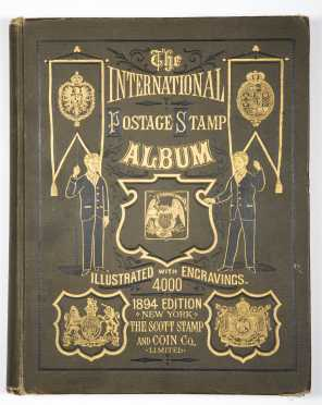 1894 Edition International Postage Stamp Album