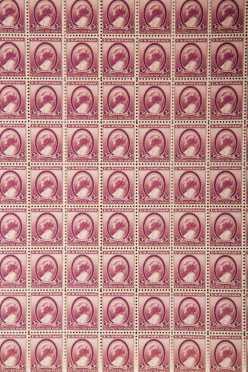 190 US Mint Sheets