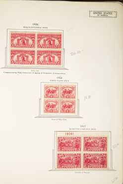 US Album of Mint Stamps