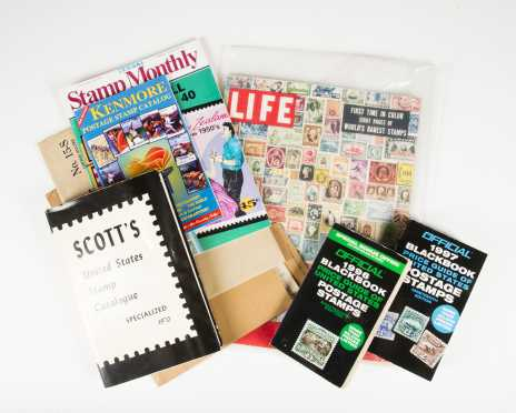 Miscellaneous Stamp Books and Memorabilia