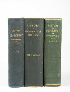 N.H. Town Histories - Claremont - Andover - Wolfeborough