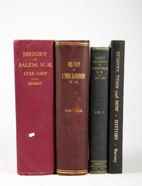 N.H. Town Histories - Salem - Lyndeborough - Derryfield - Rumney