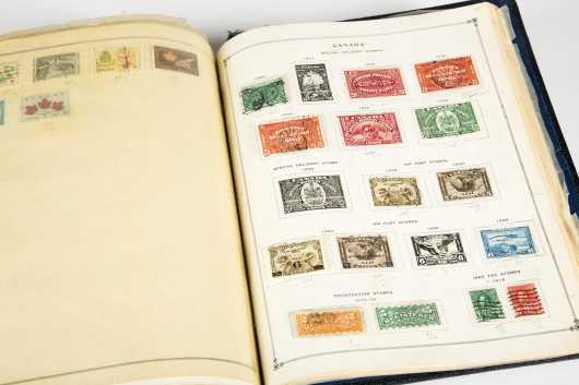 International Postage Stamp Album 1950, Part 1