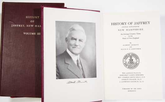 History of Jaffrey, 3 volumes, plus other titles