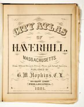 Atlas of Haverhill Massachusetts