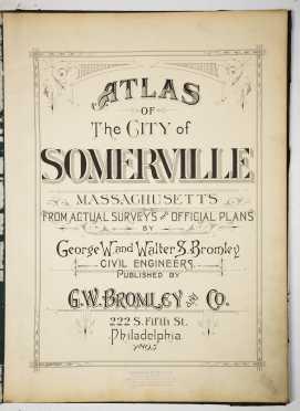 Atlas of Somerville, Massachusetts, 1916