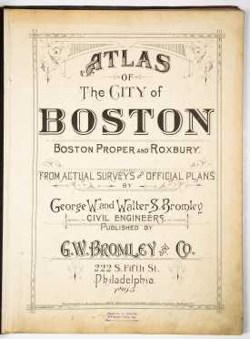 Atlas of the City of Boston, 1895