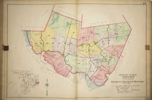 Two Middlesex County Atlases