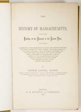 [Massachusetts History] - 2 Titles