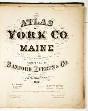 Atlas of York Co. Maine