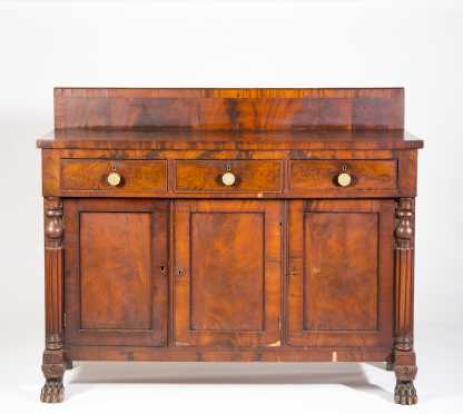 Mahogany Empire Sideboard