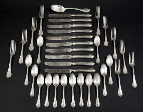 Partial Sterling Silver Service- Daniel Low & Co.
